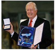 Jimmy Carter, XXII Premi Internacional Catalunya