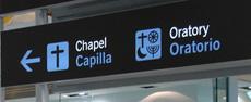 Capellania Evangèlica a la T4 de l'Aeroport de Madrid Barajas