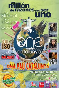 Dia Mundial de la Joventut amb Valors One World 2010