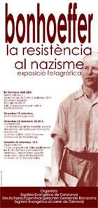 EXPOSICIÓ FOTOGRÀFICA SOBRE BONHOEFFER