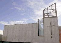 Inauguració del nou mural ornamental de l'Església del Redemptor a Sabadell