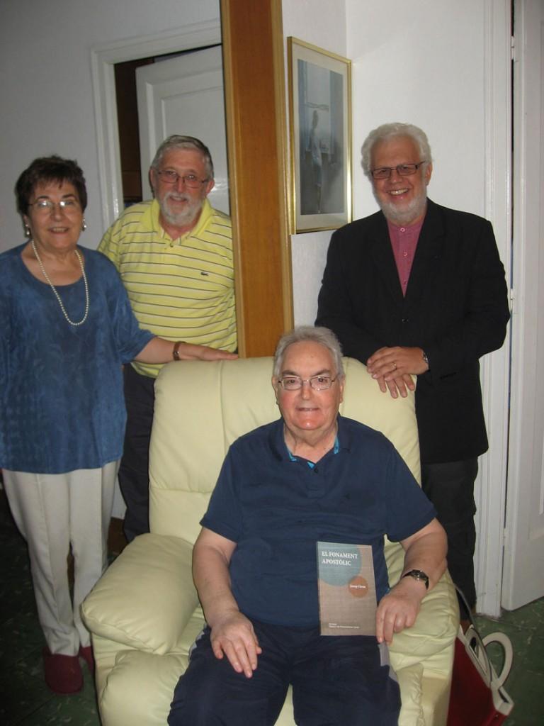 Visita del CEC a Josep Grau i Balcells